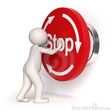 stop - DISTURBI D'ANSIA